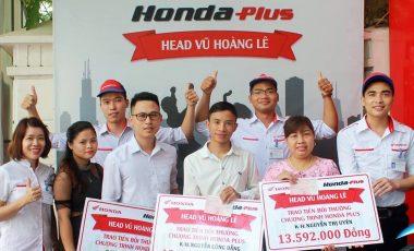 Trao bồi thường HondaPlus cho 3 khách hàng thân thiết của Honda Vũ Hoàng Lê